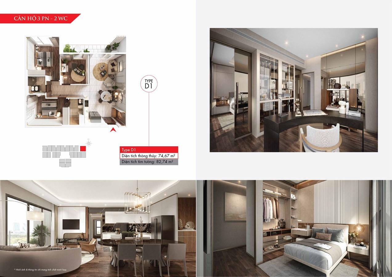 Thiết kế căn hộ Astral City làm siêu lòng khách hàng bởi sự sang trọng và đẳng cấp