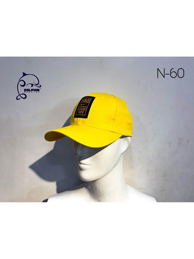 NÓN VÀNG LOGO THÊU N-60