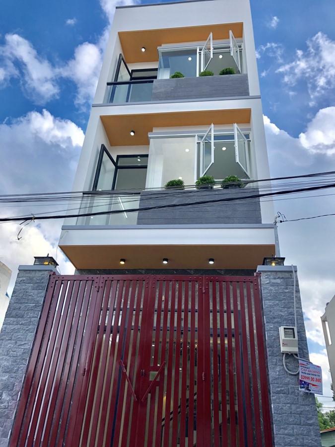 Bán nhà 1 trệt 2 lầu hẻm otô Đường Lã Xuân Oai P. Long Trường Quận 9.