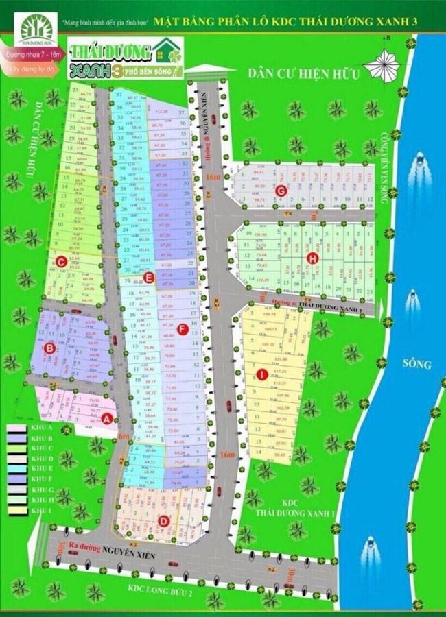 Cần bán nền đất dự án Thái Dương đường số 6 phường Long Bình Quận 9
