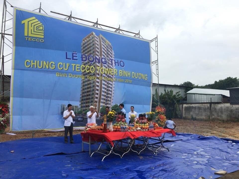 Lễ động thổ dự án Tecco Tower Bình Dương