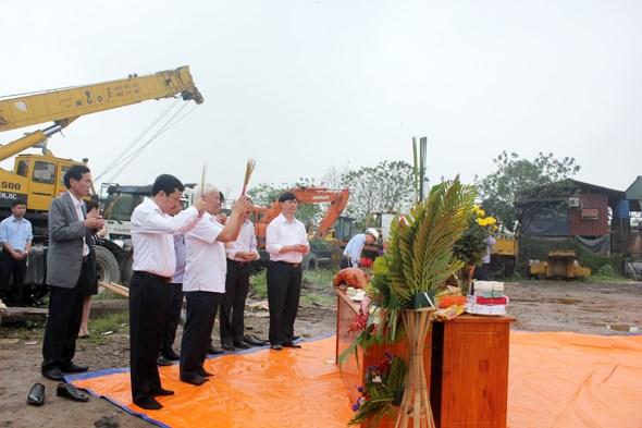 Lễ động thổ xây dựng hai dự án chung cư tại Thanh Trì, Hà Nội
